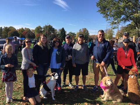 Id Employees Participate In Howloween 5k And 1 Mile Dog Walk